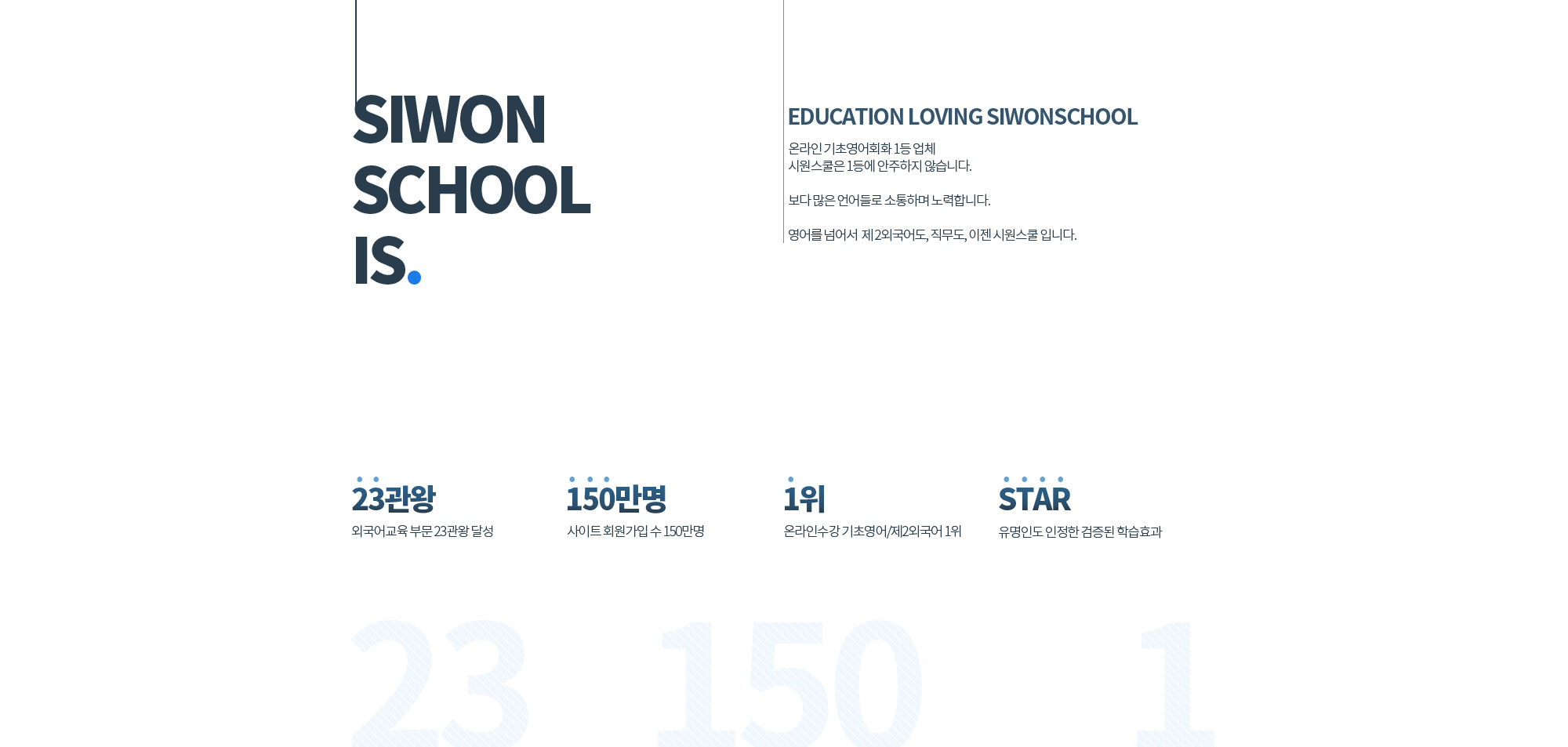 SIWON SCHOOL IS.